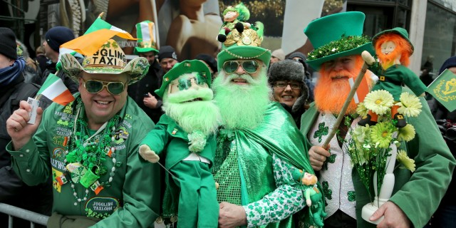 The 253rd annual St. Patrick's Day Parade